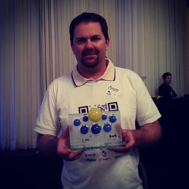 Núcleo Web recebe prêmio