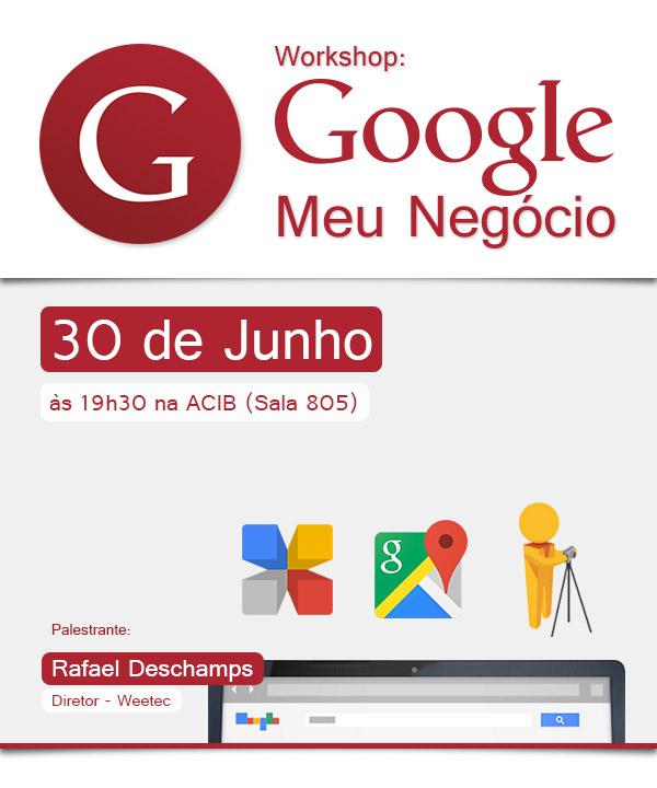 Workshop: Google Meu Negócio
