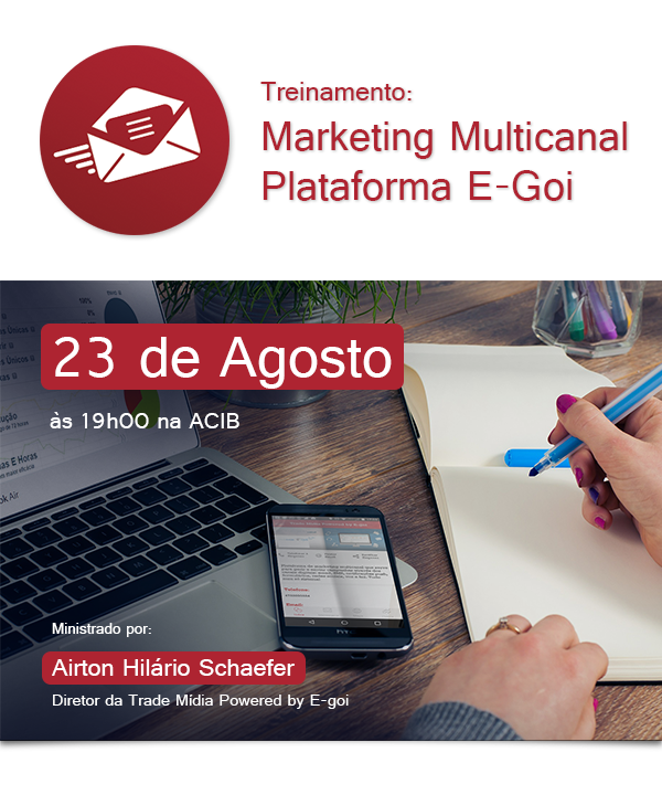 Treinamento: Marketing Multicanal Plataforma E-Goi