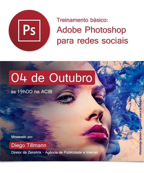 Treinamento básico: Adobe Photoshop para redes sociais