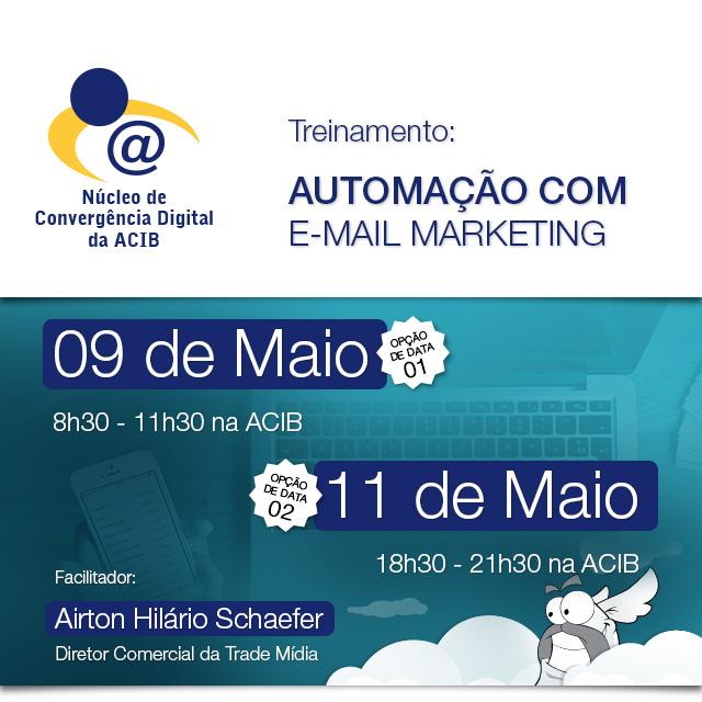 Treinamento: Automação com e-mail marketing