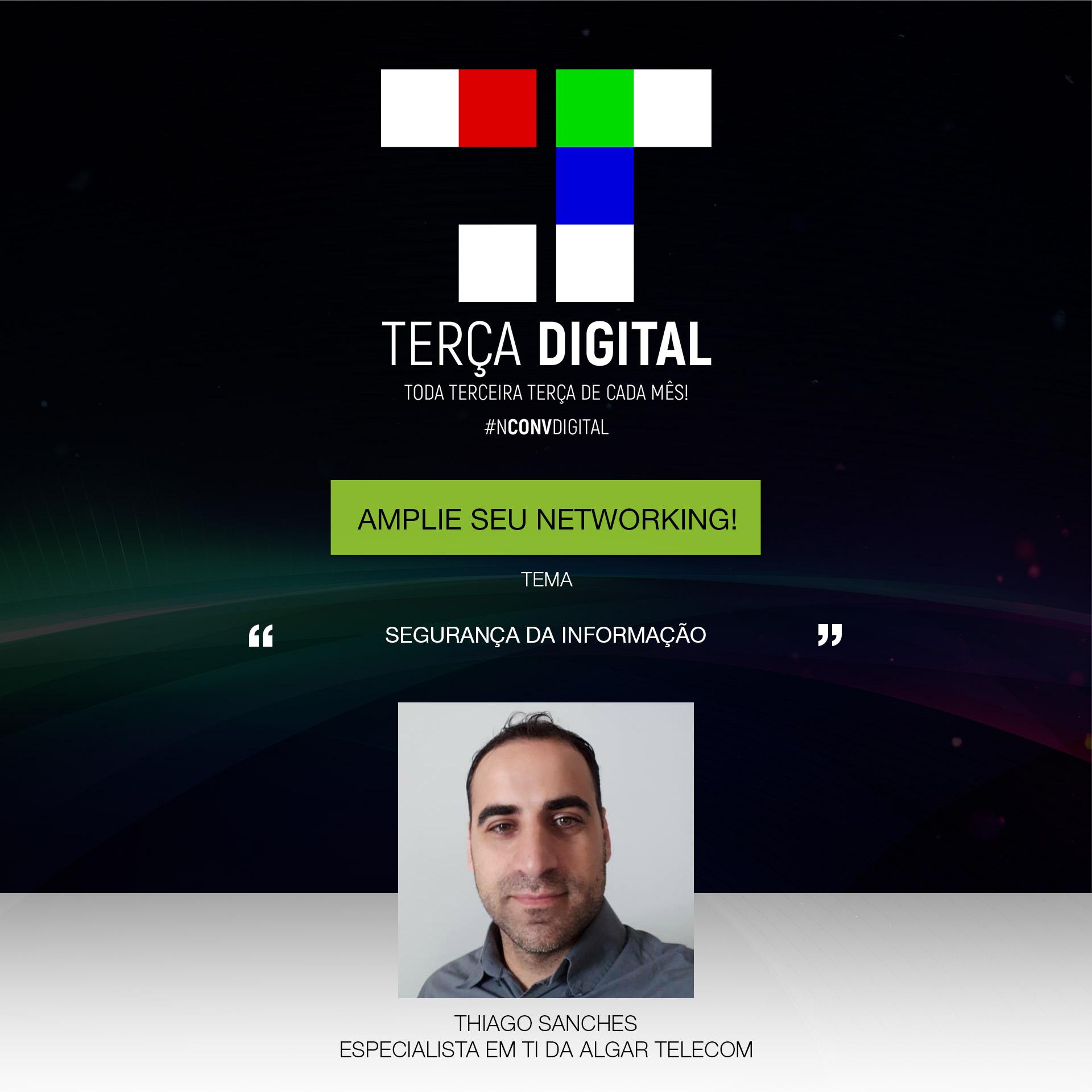 Reunião temática: Participe da Terça Digital – Maio 2k18!