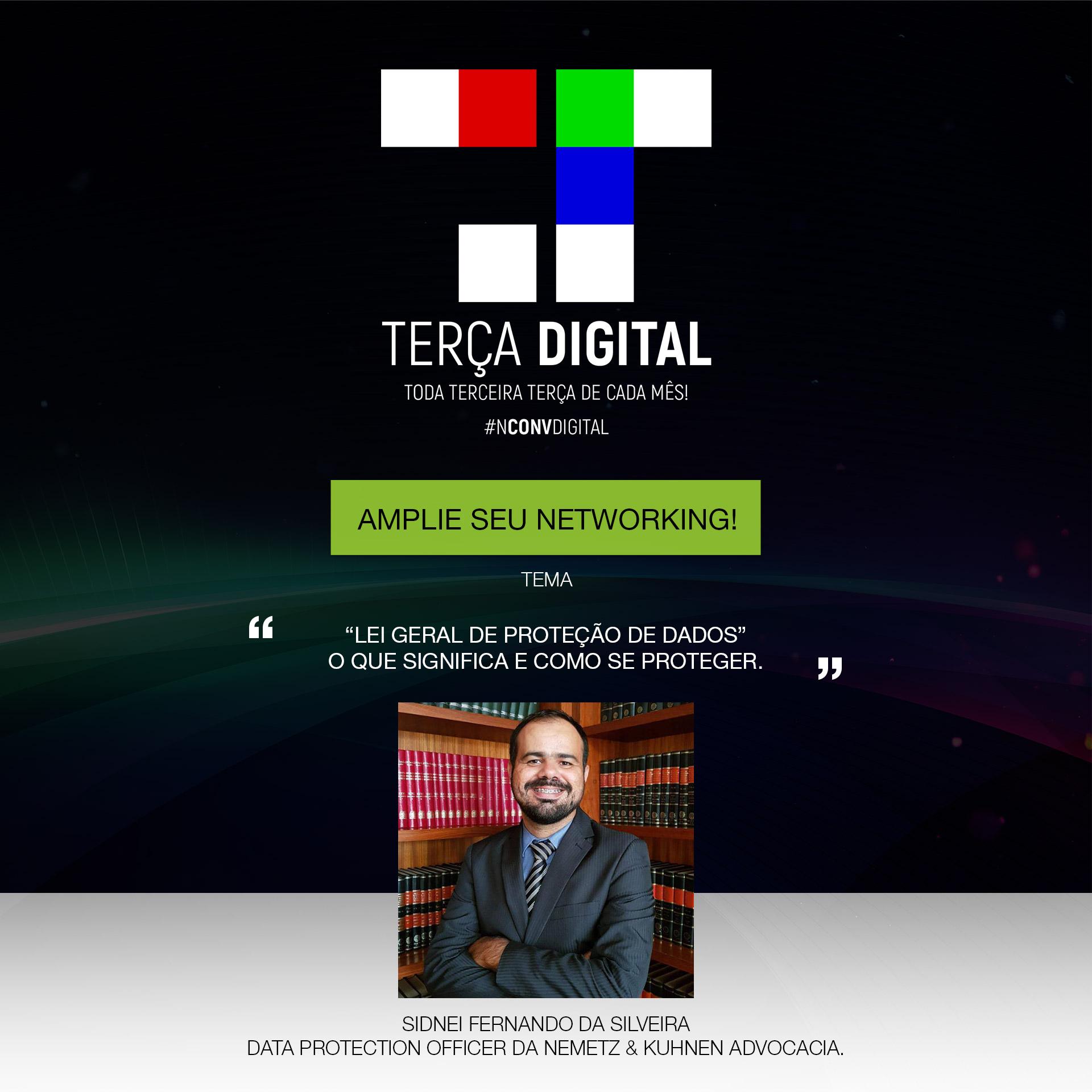 Reunião temática: Participe da Terça Digital – Maio 2019!