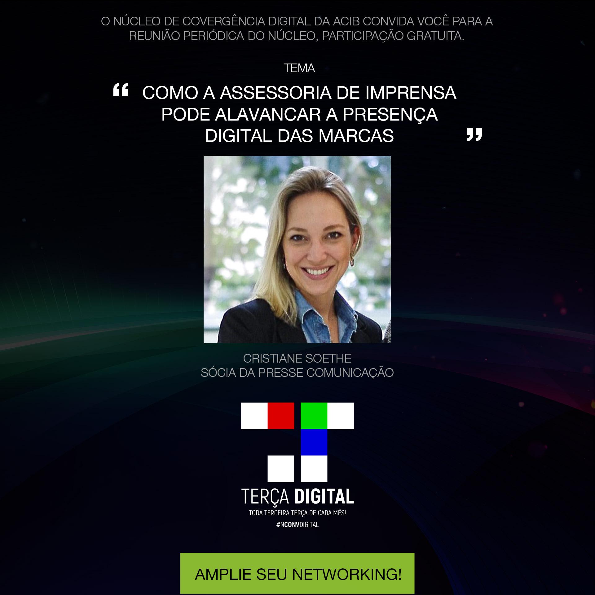 Reunião temática: Participe da Terça Digital – Setembro 2019!